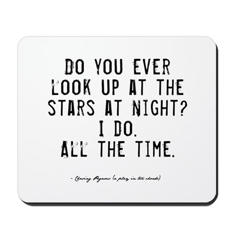Stars Quote Mousepad