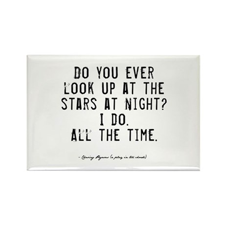 Stars Quote Rectangle Magnet (10 pack)