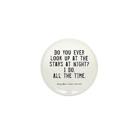 Stars Quote Mini Button