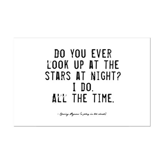 Stars Quote Mini Poster Print