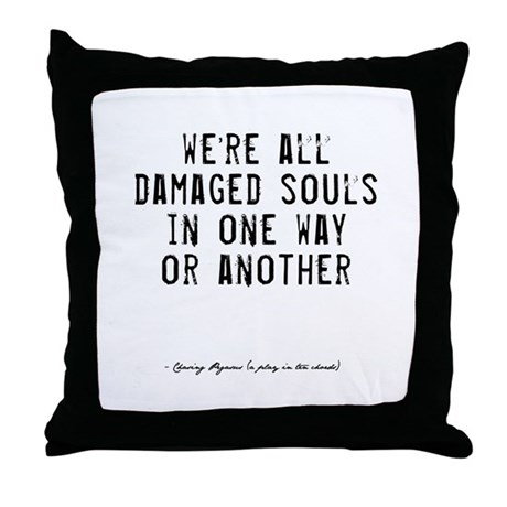 Souls Quote Throw Pillow