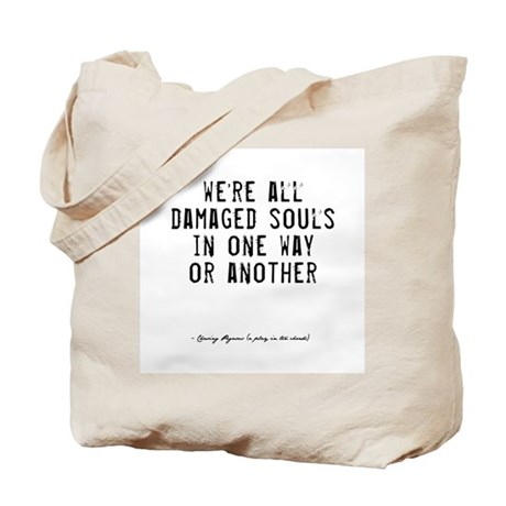Souls Quote Tote Bag