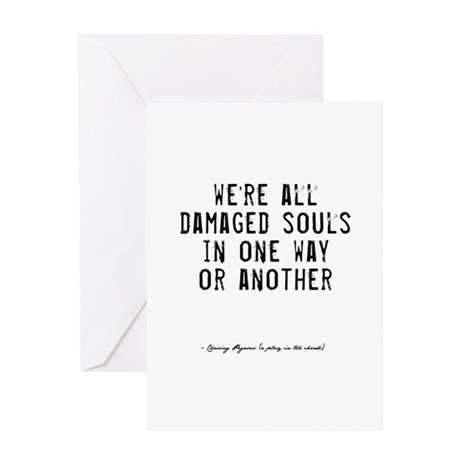 Souls Quote Greeting Card