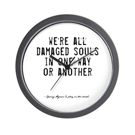 Souls Quote Wall Clock