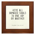 Souls Quote Framed Tile