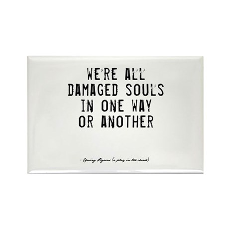 Souls Quote Rectangle Magnet
