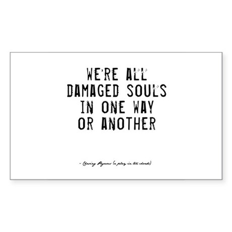 Souls Quote Rectangle Sticker