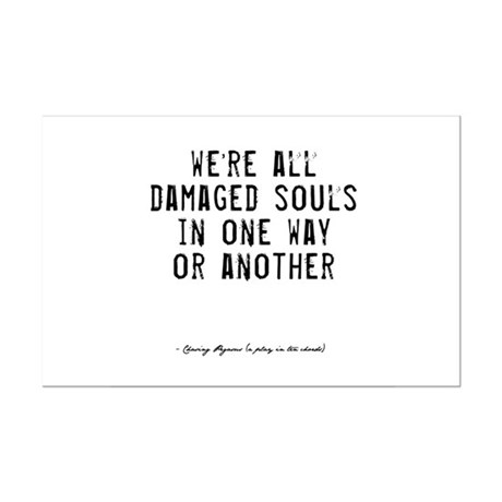Souls Quote Mini Poster Print