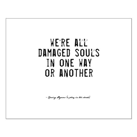 Souls Quote Small Poster