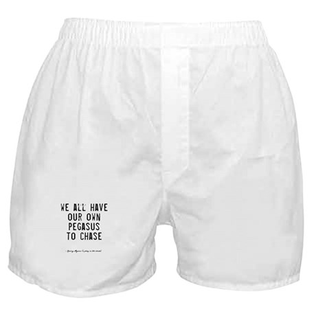 Pegasus Quote Boxer Shorts