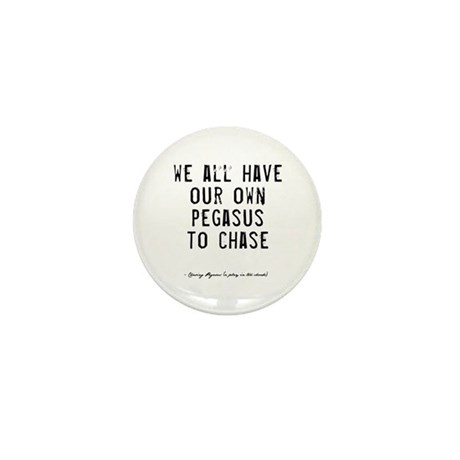 Pegasus Quote Mini Button
