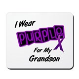 I Wear Purple 8 (Grandson) Mousepad