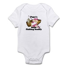 Papa's Fishing Buddy Infant Bodysuit