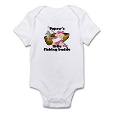Papaw's Fishing Buddy Infant Bodysuit