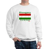 Hungary - Heart Sweatshirt