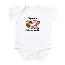 Poppa's Fishing Buddy Infant Bodysuit