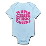 Pink Squishy Cheeks Infant Bodysuit