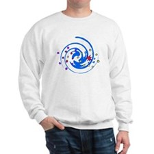Swirly fireworks Sweatshirt
