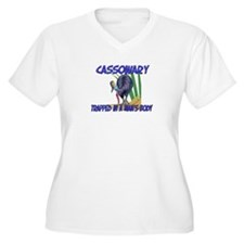 Cassowary Trapped In A Man's Body T-Shirt