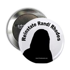 "Reinstate Randi Rhodes 2.25"" Button (10 pack)"