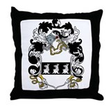 Lyndsey Family Crest Throw Pillow
