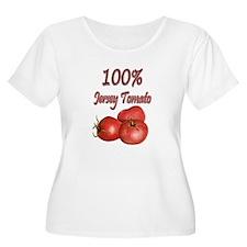 Jersey Girl Jersey Tomato T-Shirt