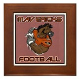 Texas Mavericks Framed Tile