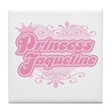 """Princess Jaqueline"" Tile Coaster"