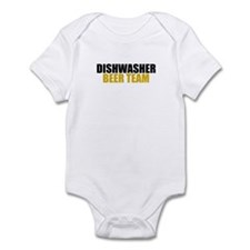 Dishwasher Beer Team Infant Bodysuit
