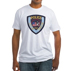 Trenton PD Fitted T-Shirt