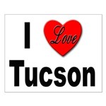 I Love Tucson Arizona Small Poster