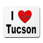I Love Tucson Arizona Mousepad