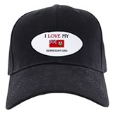 I Love My Bermudan Dad Baseball Hat