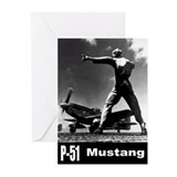 P-51 Mustang Greeting Cards (Pk of 20)