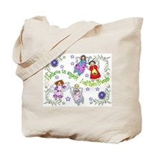 BELIEVE IN ANGELS Tote Bag