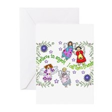BELIEVE IN ANGELS Greeting Cards (Pk of 10)