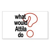 Attila Rectangle Decal