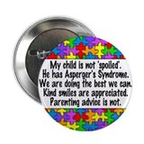 "He Has Asperger's 2.25"" Button"