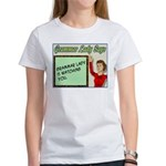 Grammar Lady is Watching You Women's T-Shirt