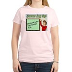 Grammar Lady is Watching You Women's Light T-Shirt