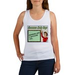 Grammar Lady is Watching You Women's Tank Top