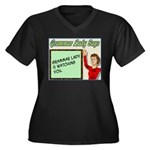 Grammar Lady is Watching You Women's Plus Size V-N