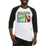 Grammar Lady is Watching You Baseball Jersey