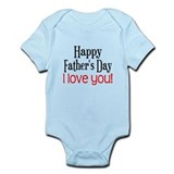 Happy Father's Day  Baby Onesie