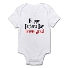Happy Father's Day Infant Bodysuit