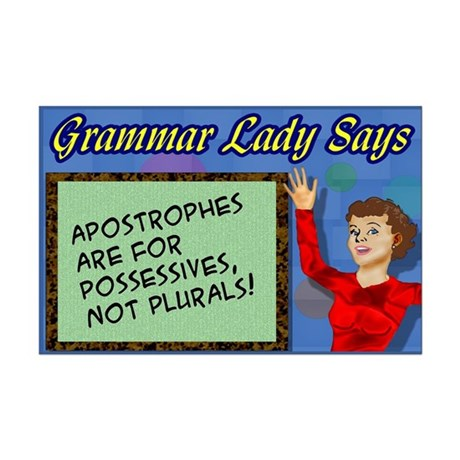 Apostrophes are for Possessives Mini Poster Print
