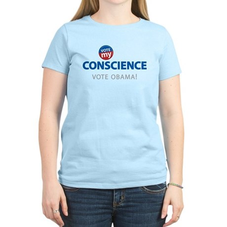 Vote MY Conscience Women's Light T-Shirt