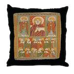 Saints of Kells Throw Pillow