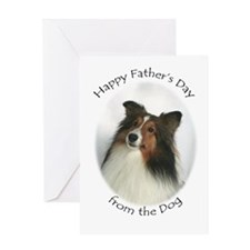 Father's Day from the Dog Card