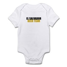 El Salvador Beer Team Infant Bodysuit